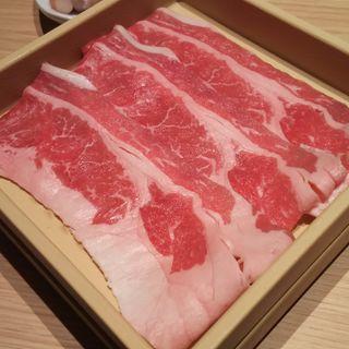 厳選牛カルビ(しゃぶしゃぶ温野菜 ミューザ川崎店)