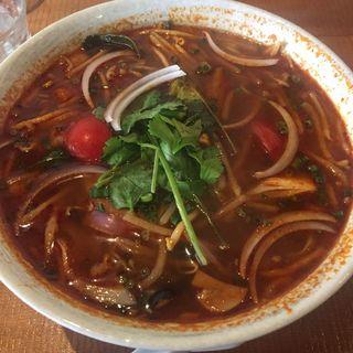 トムヤム麺(アジアン料理サティー (Sathi【旧店表記:アジアンダイニングレッドチリ】))