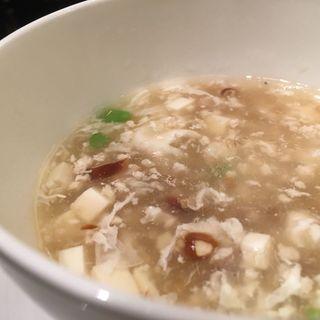 牛肉と豆腐のスープ(赤坂璃宮 銀座店 (アカサカリキュウ))