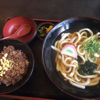 特製肉どんぶり定食(一心 )