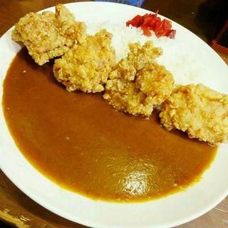 フライドチキンカレー(まりお流 )
