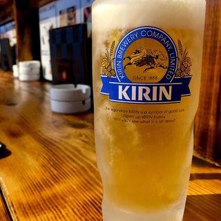 生ビール キリン(地鶏ダイニング番長)