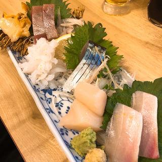 お刺身の盛り合わせ(銀座魚勝 (GINZA UOKATSU))