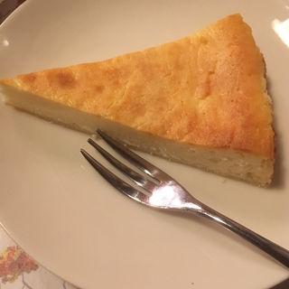 チーズケーキセット(スイス料理 ハウゼ)