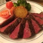 近江牛のイチボステーキ