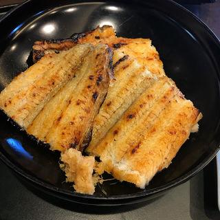 鰻白焼き定食(うなぎ処かとう )