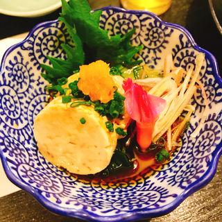 あん肝ポン酢(山葵 (わさび))
