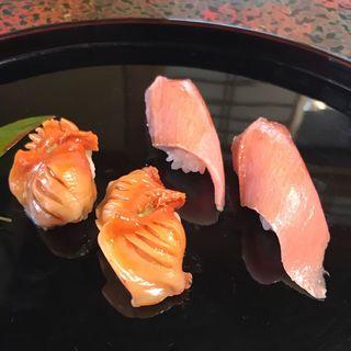 赤貝と本鮪(陸女鮨 )
