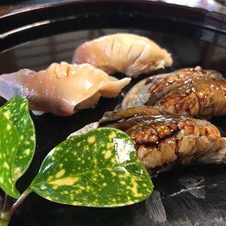 穴子と北寄貝(陸女鮨 )