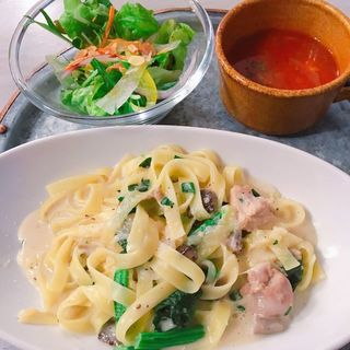 B セット(本日のパスタ)(kobe harbor kitchen Haji)