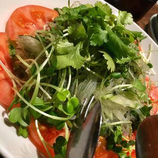 春雨香り野菜のアジアンサラダ(直家 )