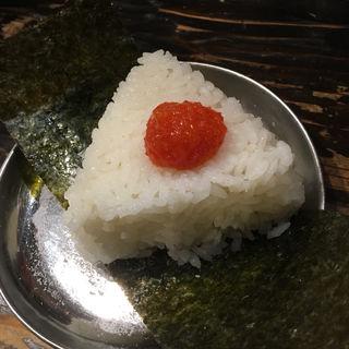 おむすび 明太子(廣島つけ麺本舗ばくだん屋 名古屋店)