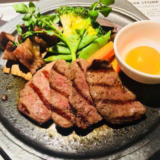 黒毛和牛炙り焼きステーキ(ランゲツ オブ トウキョウ)