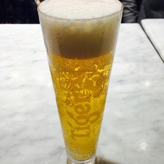 タイガービール 生(シンガポール海南鶏飯 日本橋三井タワー店)