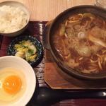 味噌煮込みうどん定食(横浜なかや 大関本店 )