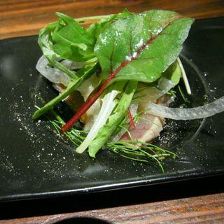 前菜(鰹のカルパッチョ)(キッチンコトコト (kitchen CotoCoto))