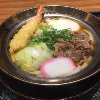 肉鍋焼きうどん(はなまるうどん イオンタウン姫路別所店 )