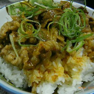 カルビ丼(宝 )
