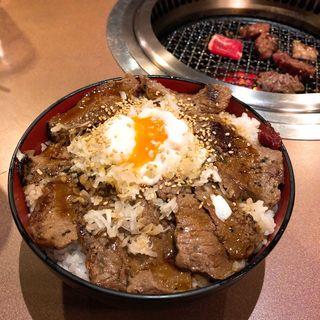 人気NO1『和牛ランプステーキ重』(肉家焼肉ゑびす本廛 (エビスホンジン))