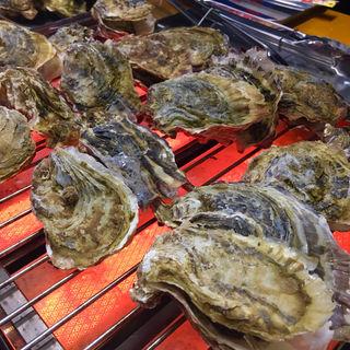 牡蠣食べ放題(マルナカ水産)