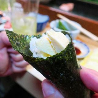 アイスクリーム巻き(丸八寿司 駅前店 )