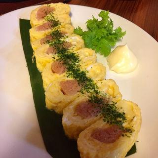 明太チーズ玉子焼き(居酒屋 とみ )