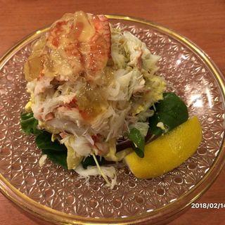 毛蟹サラダ(魚や きてれつ )
