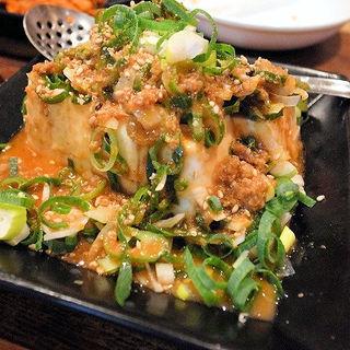 中華豆腐(究極Y'sラーメン (きゅうきょくわいずらーめん))