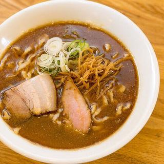 喜多方らーめん(煮干)(麺や七彩)
