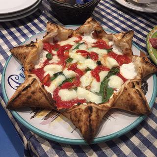 """マルゲリータ(ナポリスタカ (pizzeria da peppe NAPOLI STA'CA""""""""))"""