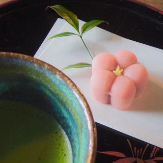 抹茶セット(春蘭亭 (シュンランテイ))