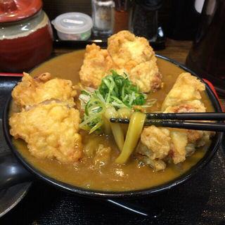 鶏天カレーうどん(Ah-麺 (アーメン))