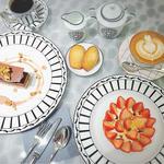 タルト フィユテ オ フレーズ(Cafe'Dior by Pierre Herme')