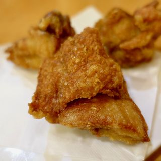 ハーフ鶏唐(中華そば 松)