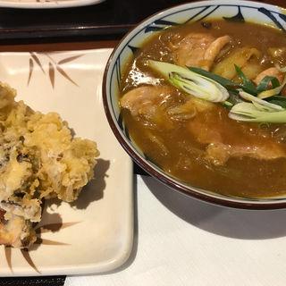 鴨肉カレーうどん(丸亀製麺大和店)