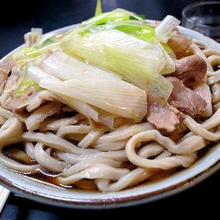 肉南ばん(冷)大盛り(角萬 向島店 (かどまん))
