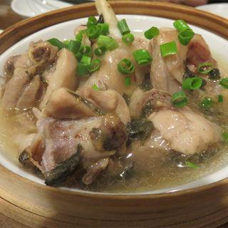 鶏肉の梅肉蒸し(中華菜 高福 )