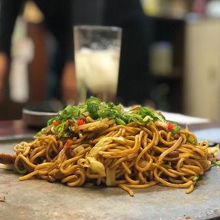 豚 納豆 焼きそば(2玉)(もんじゃ屋 )