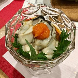 酢牡蠣(粗酒粗餐 田なべ )