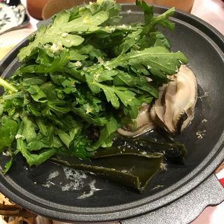 牡蠣の松前(粗酒粗餐 田なべ )
