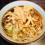 天ぷらそば(文殊 浅草店 (もんじゅ))