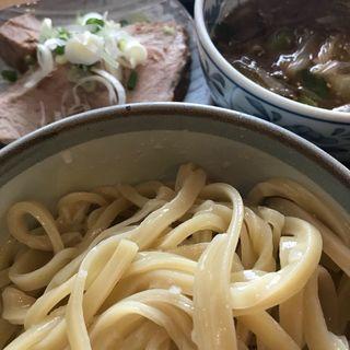 ねぎチャーシューつけ麺(長八 )