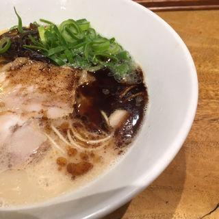 白丸元味+マー油TP(一風堂 札幌狸小路店)