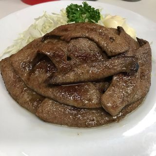 レバーテキ定食(ふなこし )