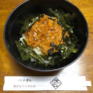 うにぼっかけ丼(味よし (あじよし))