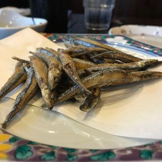 キビナゴの唐揚げ(梅鶏苑庄屋 佐々店 (ばいけいえんしょうや))