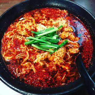 元祖辛麺 14辛(辛麺屋 桝元 玄風周船寺店 )
