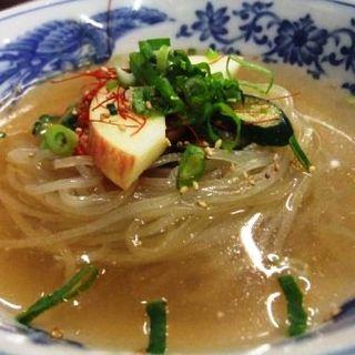 冷麺(焼肉・ホルモン・冷麺 杉)