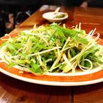 水菜・ネギサラダ