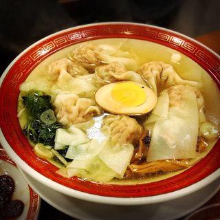 ミニ海老雲呑麺(広州市場 中目黒店 (コウシュウイチバ))